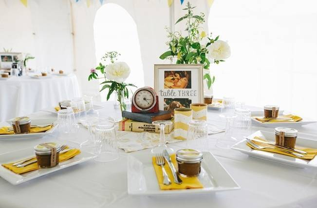 Rustic Yellow + Blue Vermont Wedding {Colette Kulig Photography} 24