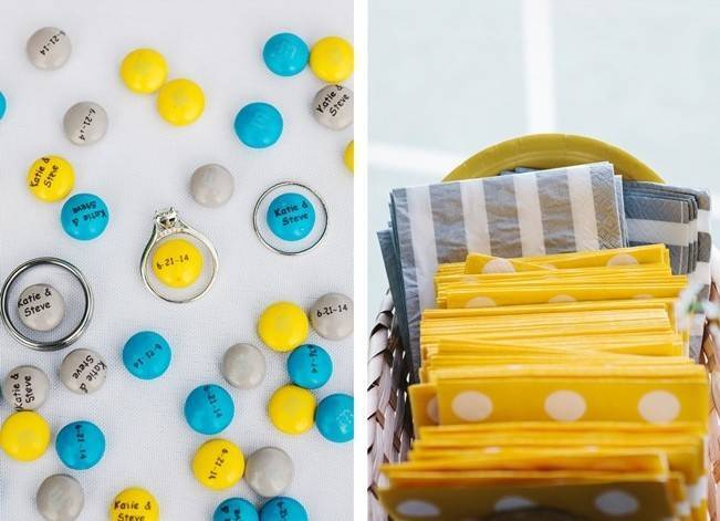 Rustic Yellow + Blue Vermont Wedding {Colette Kulig Photography} 25
