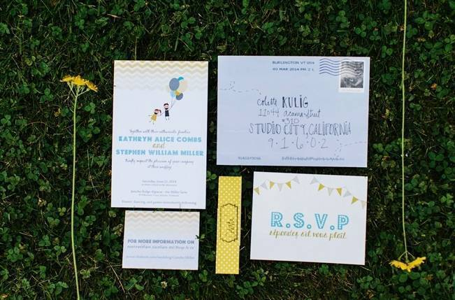 Rustic Yellow + Blue Vermont Wedding {Colette Kulig Photography} 26