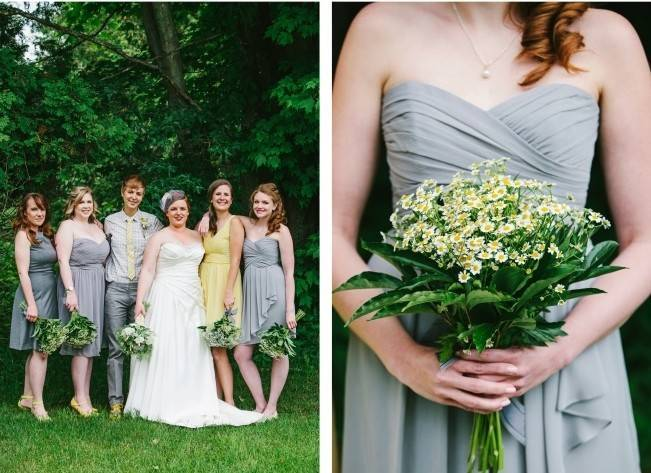 Rustic Yellow + Blue Vermont Wedding {Colette Kulig Photography} 3