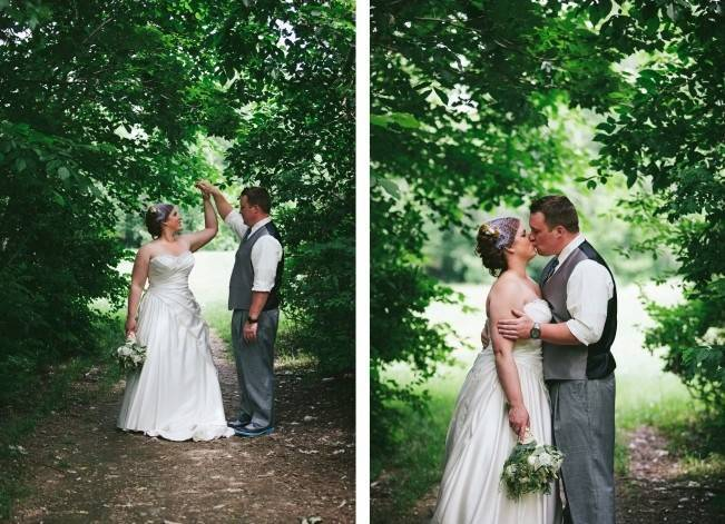 Rustic Yellow + Blue Vermont Wedding {Colette Kulig Photography} 5