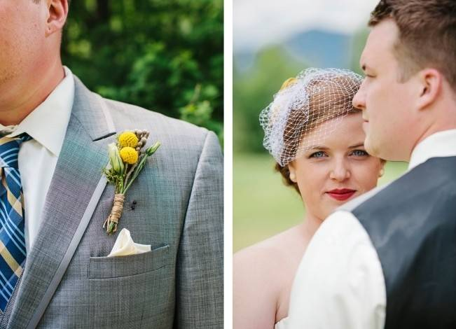 Rustic Yellow + Blue Vermont Wedding {Colette Kulig Photography} 7