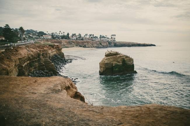 San Diego Elopement at Sunset Cliffs {Yes, Dear. Studio}