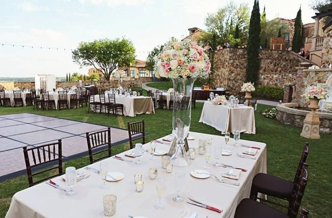 Vintage-Inspired Wedding at Bella Collina {Heather Rice Photography} 19