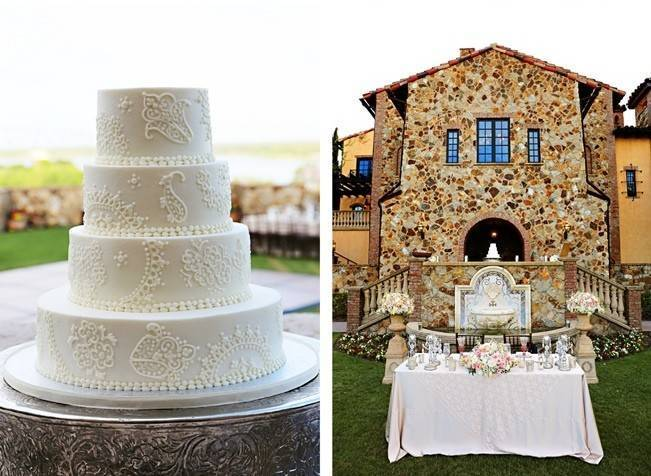 Vintage-Inspired Wedding at Bella Collina {Heather Rice Photography} 20