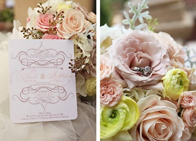 Vintage-Inspired Wedding at Bella Collina {Heather Rice Photography} 5