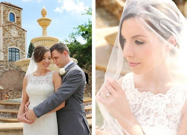 Vintage-Inspired Wedding at Bella Collina {Heather Rice Photography} 8