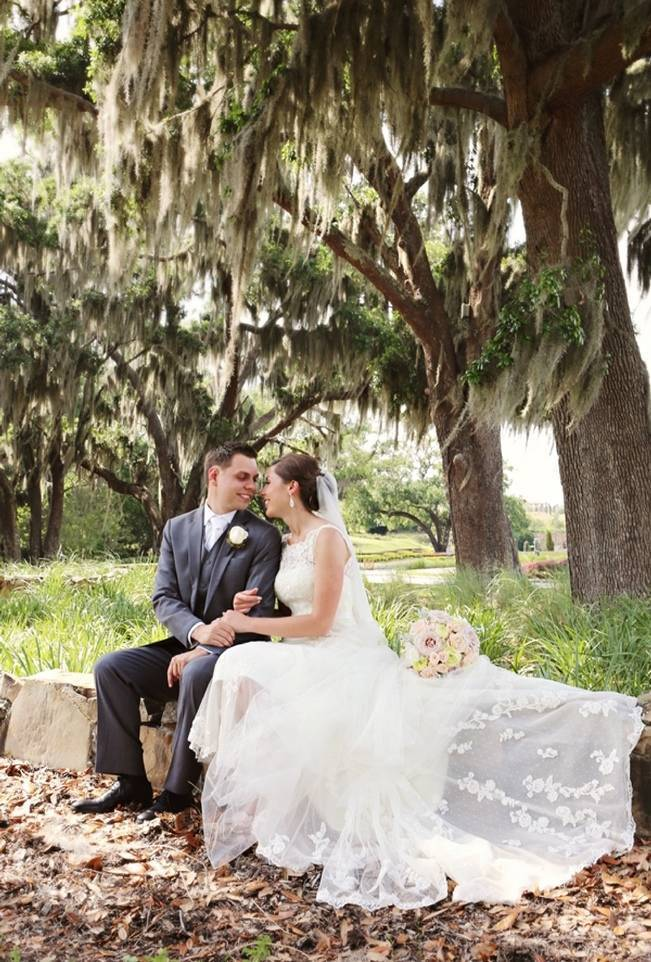 Vintage-Inspired Wedding at Bella Collina {Heather Rice Photography} 9