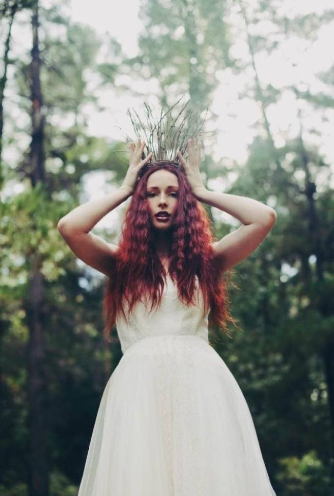 Woodland Faerie Bridal Inspiration 11