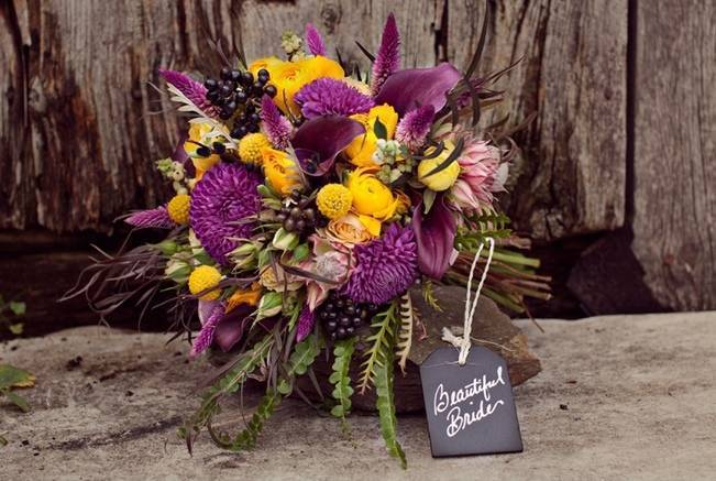 'Meant to Bee' Autumn Wedding Style {Lis Photography} 10