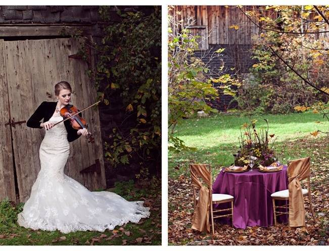 'Meant to Bee' Autumn Wedding Style {Lis Photography} 11