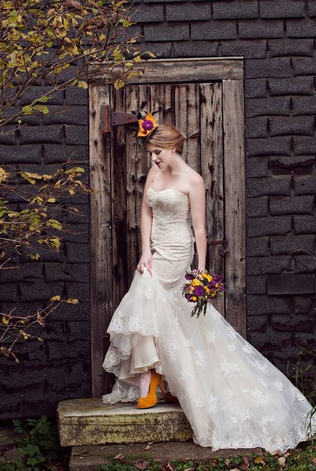'Meant to Bee' Autumn Wedding Style {Lis Photography} 12