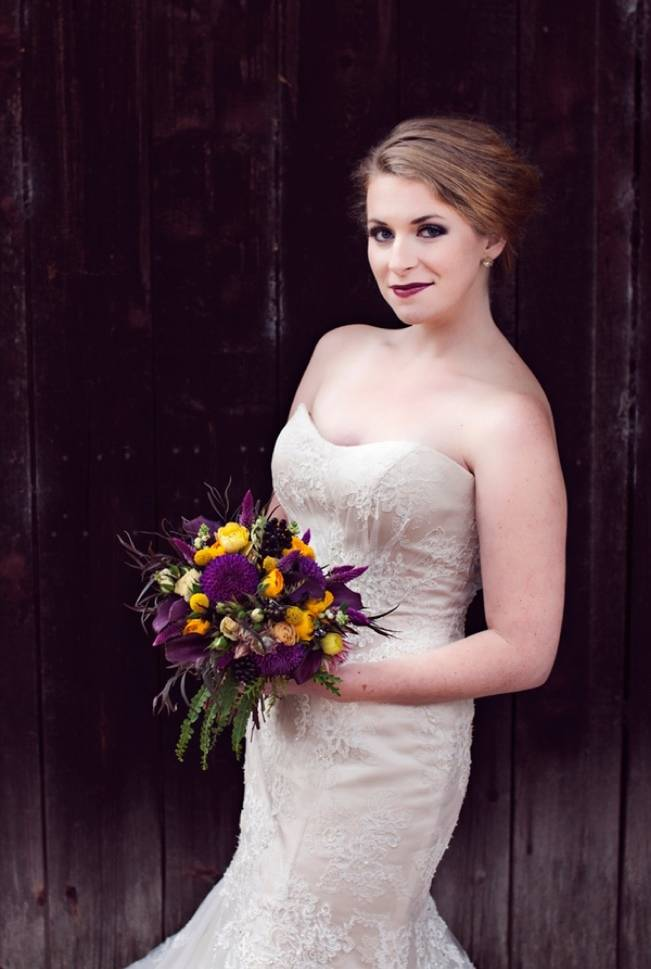 'Meant to Bee' Autumn Wedding Style {Lis Photography} 21