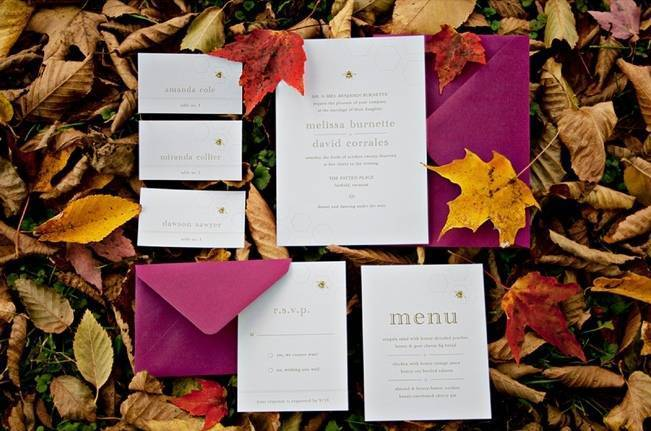 'Meant to Bee' Autumn Wedding Style {Lis Photography} 3