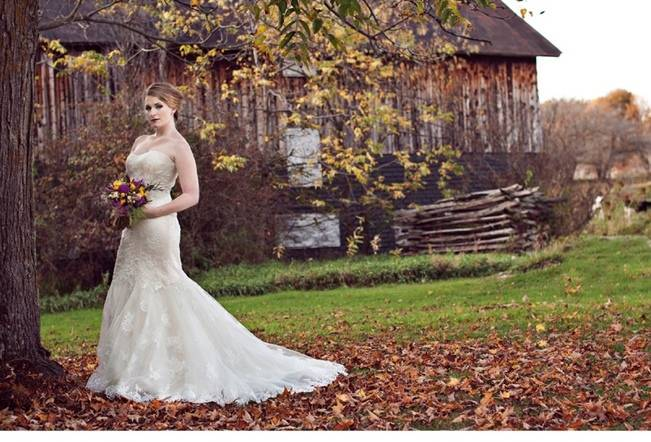 'Meant to Bee' Autumn Wedding Style {Lis Photography} 7
