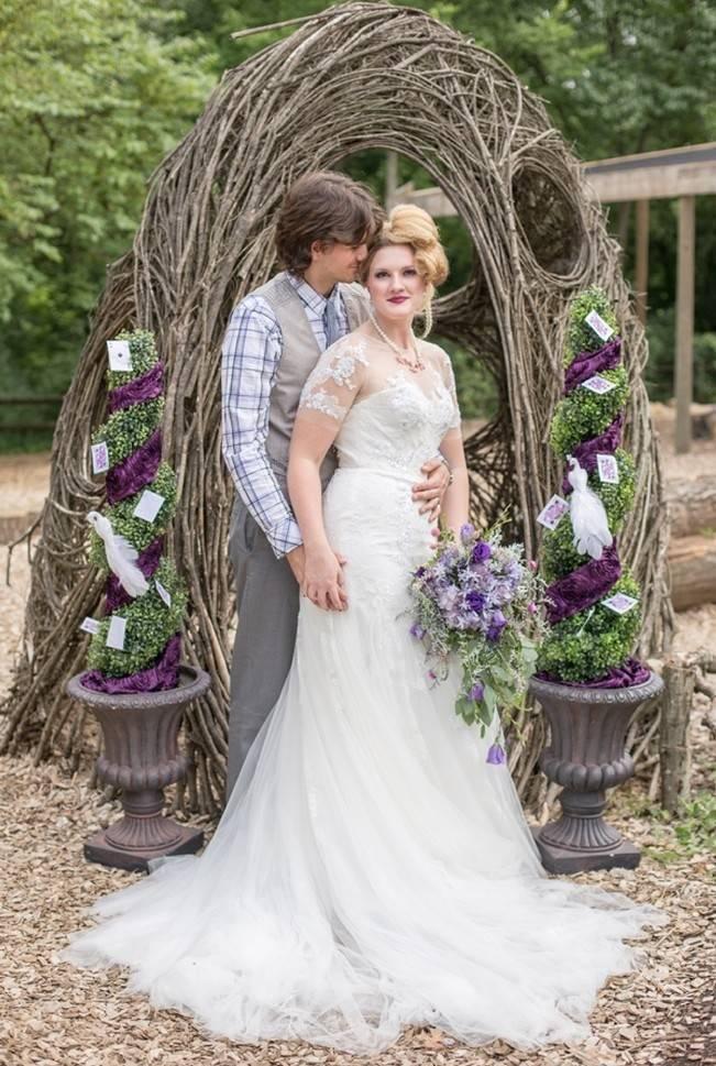 Alice in Underland Styled Wedding {Star Noir Studio} 8