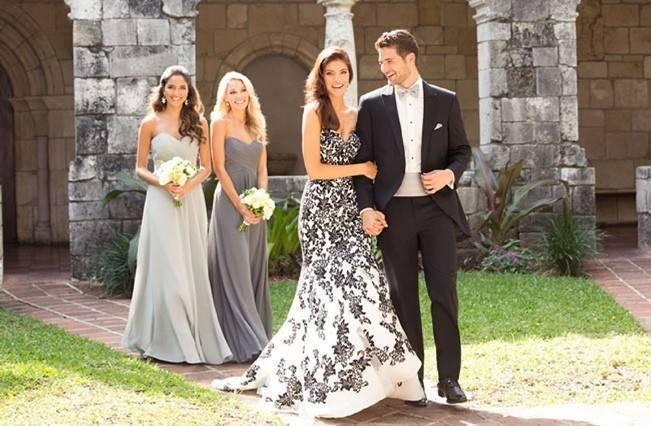 Alternative Autumn Wedding Dresses - Brides in Black 5
