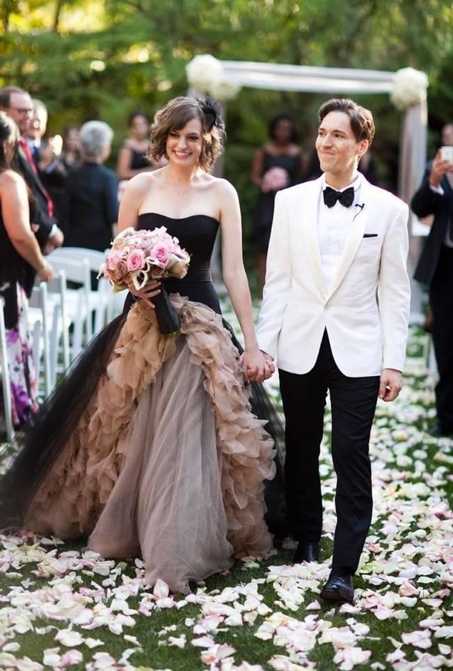 Alternative Autumn Wedding Dresses - Brides in Black 7