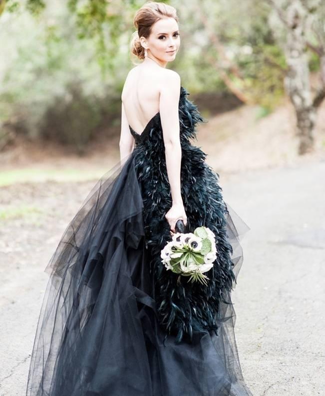 Alternative Autumn Wedding Dresses - Brides in Black 8