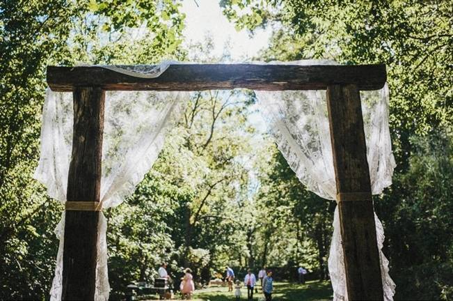 Backyard DIY Kentucky Wedding {Cassie Lopez Photography}