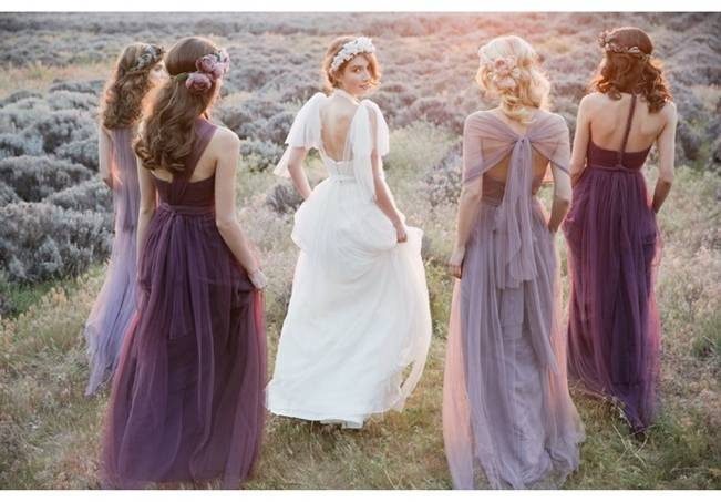 Ethereal Lavender Editorial Featuring Jenny Yoo's Nabi Collection {This Modern Romance} 15