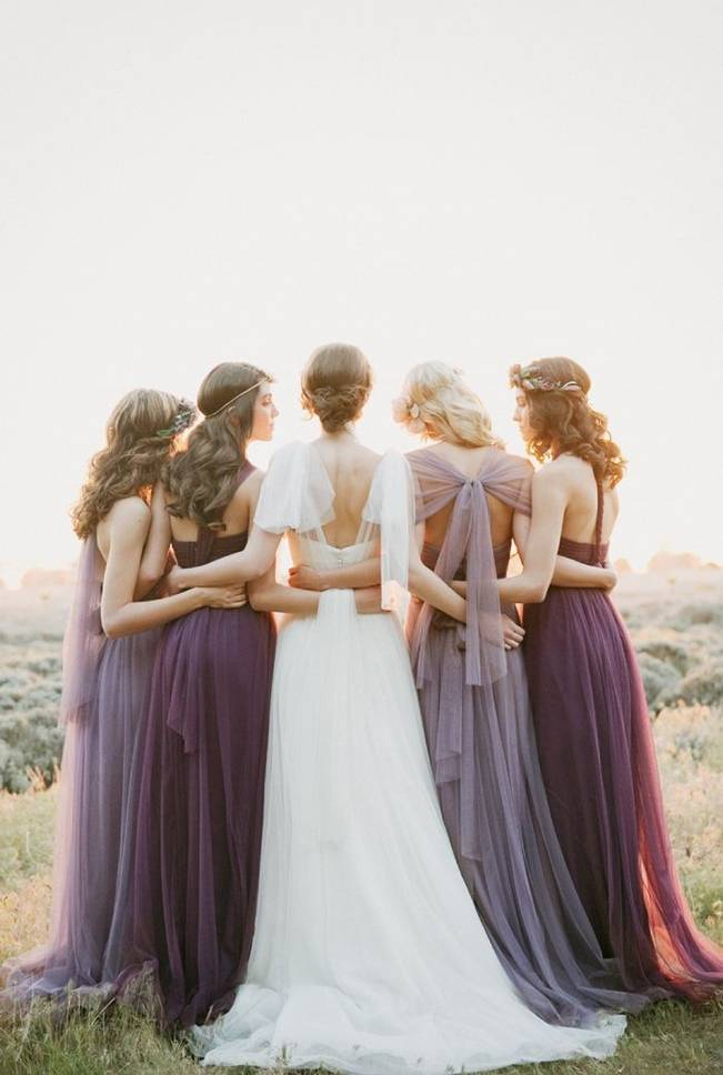 Ethereal Lavender Editorial Featuring Jenny Yoo's Nabi Collection {This Modern Romance} 18