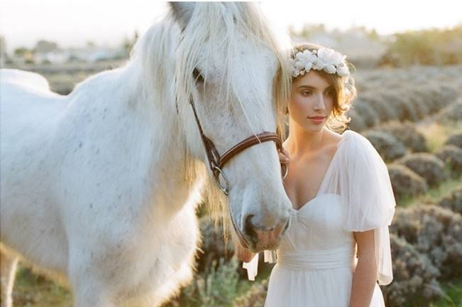 Ethereal Lavender Editorial Featuring Jenny Yoo's Nabi Collection {This Modern Romance} 19