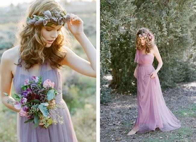 Ethereal Lavender Editorial Featuring Jenny Yoo's Nabi Collection {This Modern Romance} 2