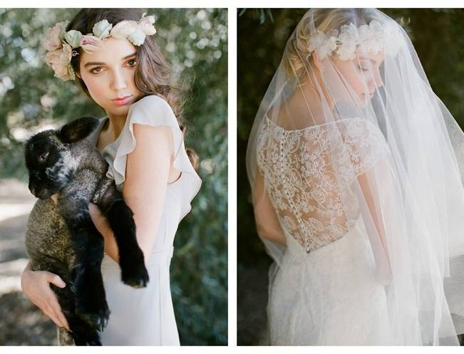 Ethereal Lavender Editorial Featuring Jenny Yoo's Nabi Collection {This Modern Romance} 20