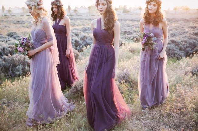 Ethereal Lavender Editorial Featuring Jenny Yoo's Nabi Collection {This Modern Romance} 21