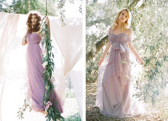 Ethereal Lavender Editorial Featuring Jenny Yoo's Nabi Collection {This Modern Romance} 4