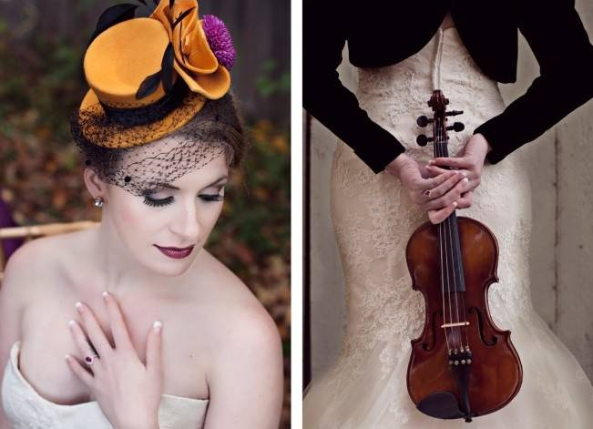 'Meant to Bee' Autumn Wedding Style {Lis Photography} 13