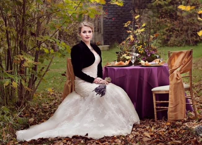 'Meant to Bee' Autumn Wedding Style {Lis Photography} 15