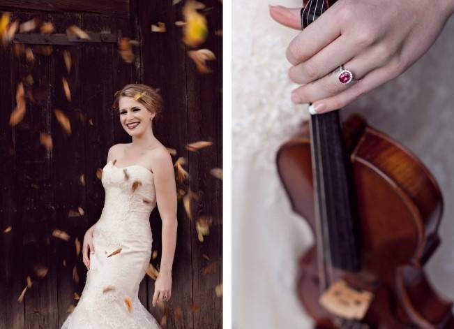 'Meant to Bee' Autumn Wedding Style {Lis Photography} 16