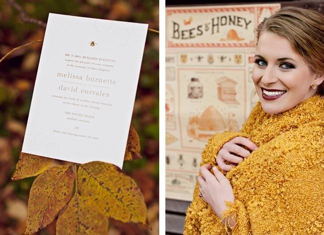 'Meant to Bee' Autumn Wedding Style {Lis Photography} 2