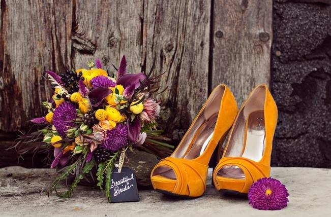 'Meant to Bee' Autumn Wedding Style {Lis Photography} 6