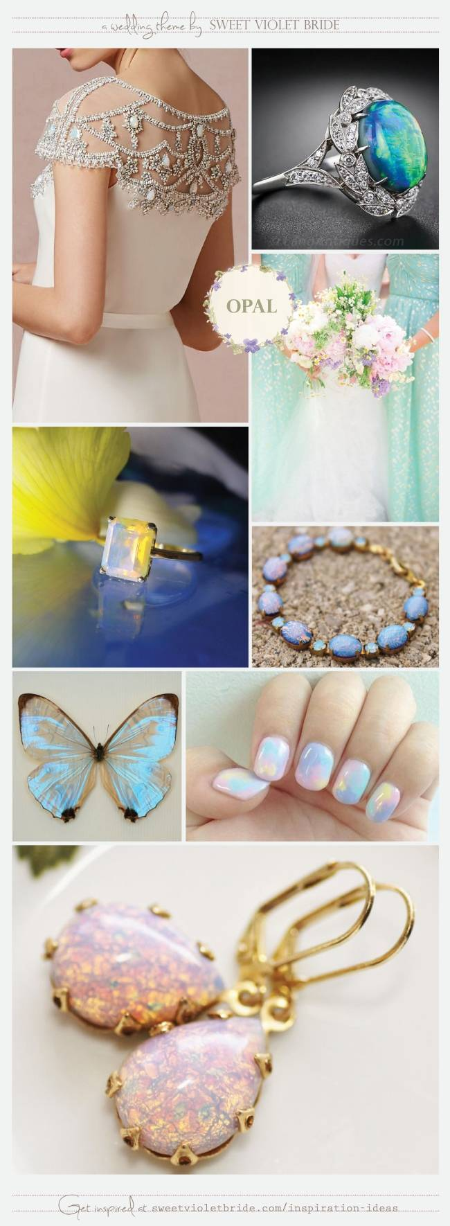 Wedding Inspiration Board #31: Opal