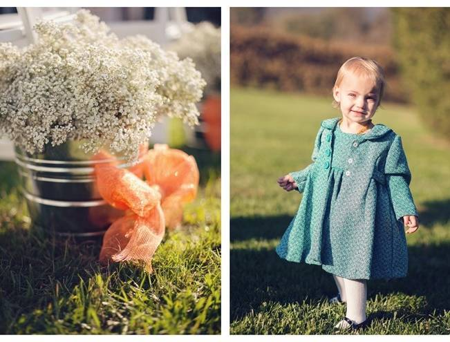 Orange and Gray Autumn Vineyard Wedding {Audra Wrisley Photography} 10