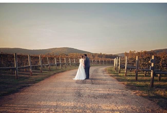 Orange and Gray Autumn Vineyard Wedding {Audra Wrisley Photography} 13