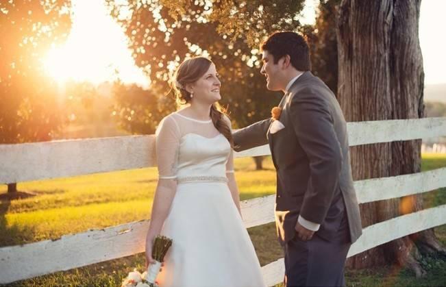 Orange and Gray Autumn Vineyard Wedding {Audra Wrisley Photography} 14