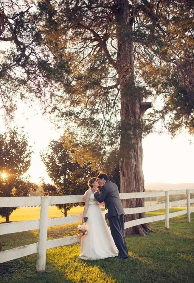 Orange and Gray Autumn Vineyard Wedding {Audra Wrisley Photography} 15