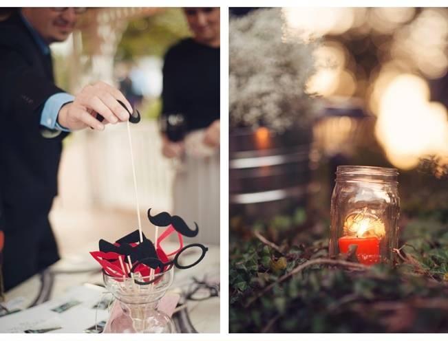 Orange and Gray Autumn Vineyard Wedding {Audra Wrisley Photography} 18