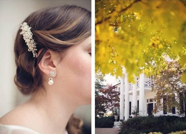 Orange and Gray Autumn Vineyard Wedding {Audra Wrisley Photography} 2