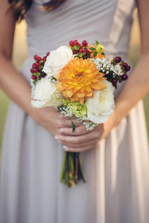 Orange and Gray Autumn Vineyard Wedding {Audra Wrisley Photography} 6