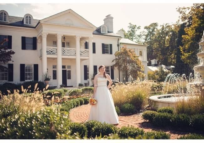 Orange and Gray Autumn Vineyard Wedding {Audra Wrisley Photography} 8