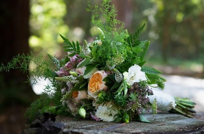 Rustic Redwood Forest Wedding {Rebekah Dotson Photography}