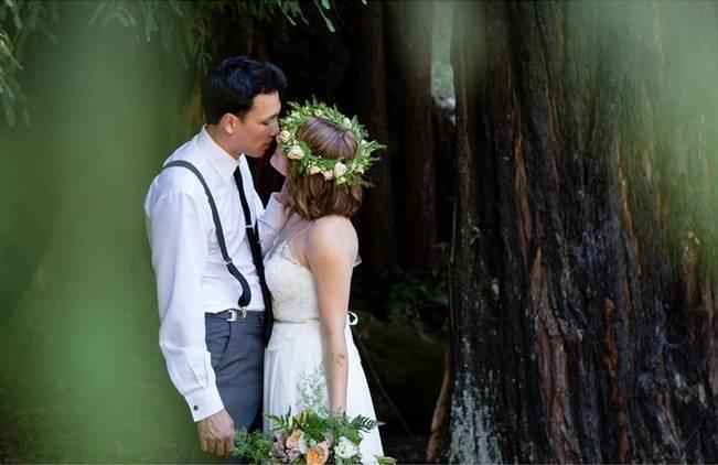 Rustic Redwood Forest Wedding {Rebekah Dotson Photography} 11
