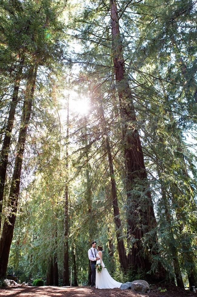 Rustic Redwood Forest Wedding {Rebekah Dotson Photography} 12