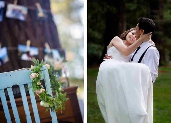 Rustic Redwood Forest Wedding {Rebekah Dotson Photography} 16