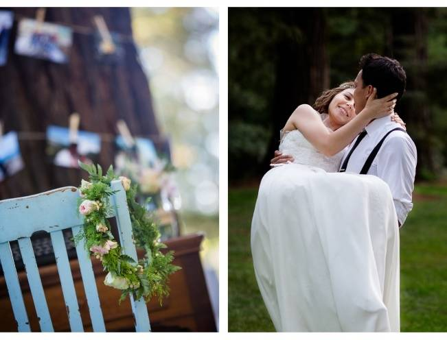Rustic Redwood Forest Wedding {Rebekah Dotson Photography} 16